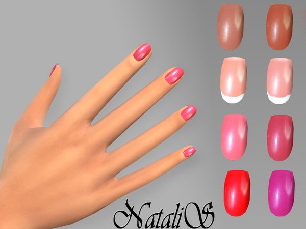 NatalIS_TS4 Short nails FT -FE