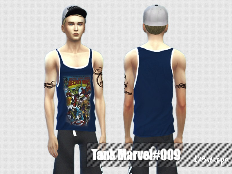 Tank Set Marvel#002 by dx8seraph