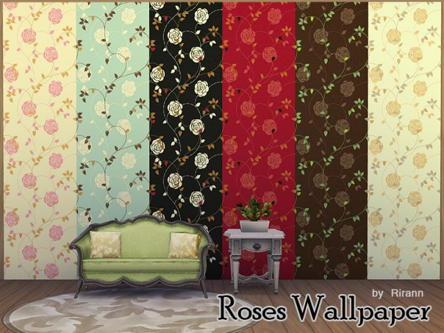 Roses Wallpaper by Rirann
