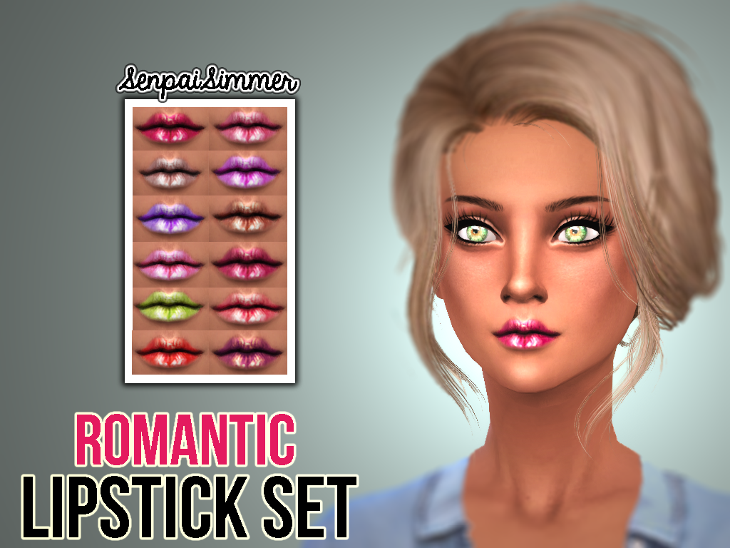 Romantic Lipstick by SenpaiSimmer