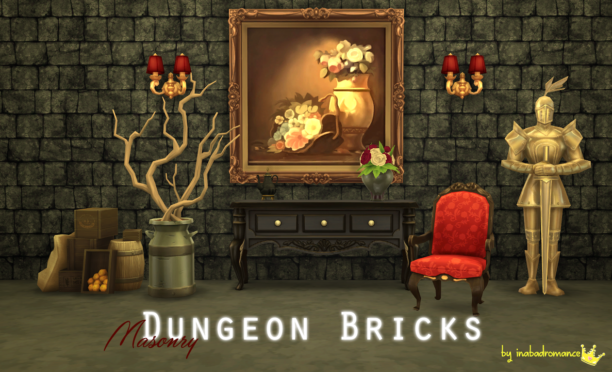 Dungeon Bricks by Inabadromance