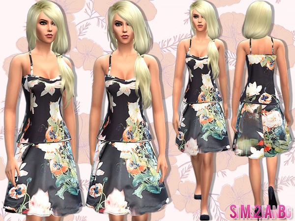 14 - Floral set by sims2fanbg