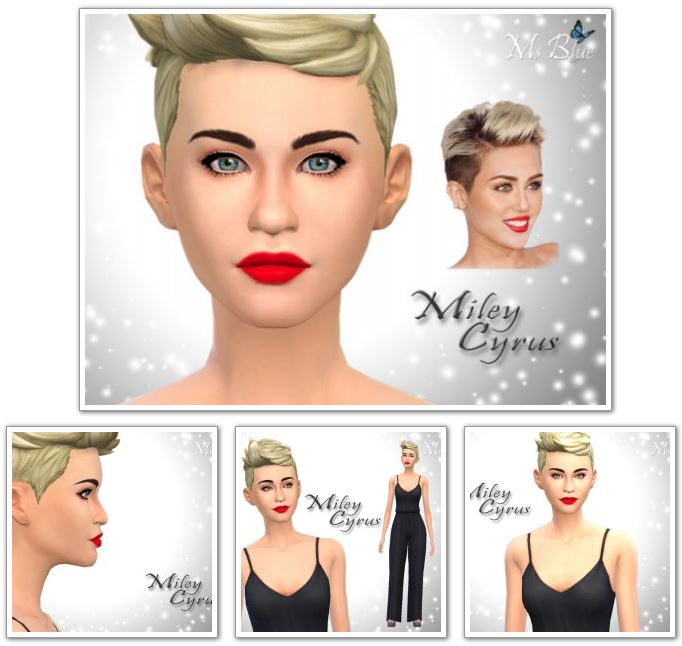 Miley Cyrus by Ms Blue
