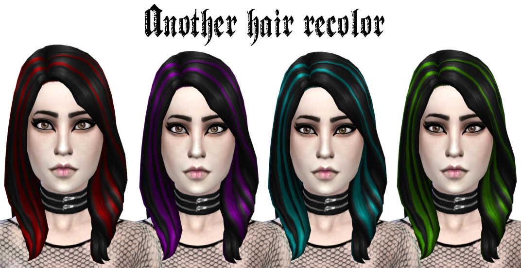 Hair Recolors by Ladyhayny
