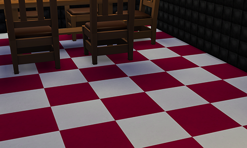 Shoesdls Flat Checkered Linoleum by Deresims