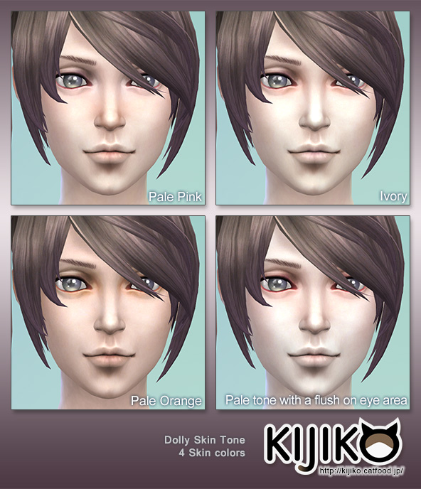 Dolly Skin Tones by Kijiko