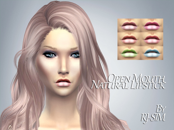 Open Mouth Natural Lipstick by RJ-SIM