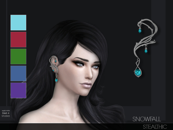 Stealthic - Snowfall Ear Cuff L/R