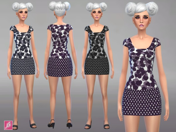 Galea Mini Dress by Alexandra_Sine