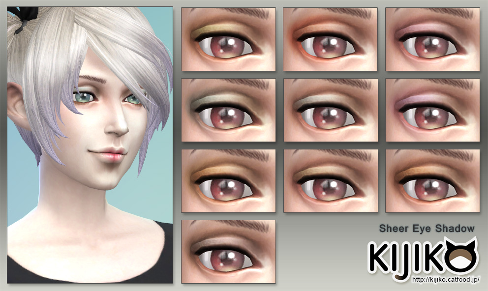 Sheer Eyeshadow by Kijiko