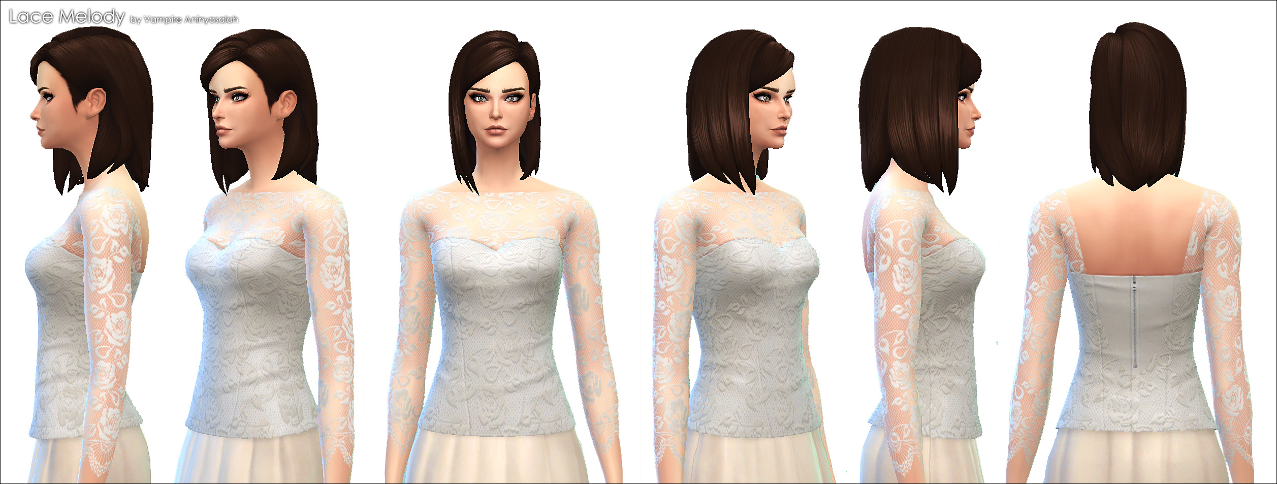 Lace Melody Blouse by Vampire_aninyosaloh