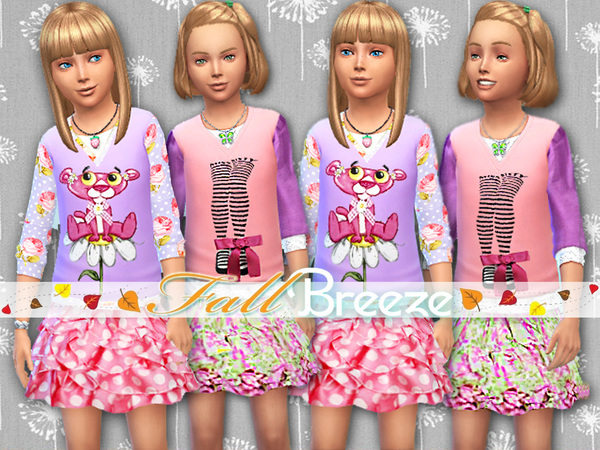 Fall Breeze Set by Pinkzombiecupcakes