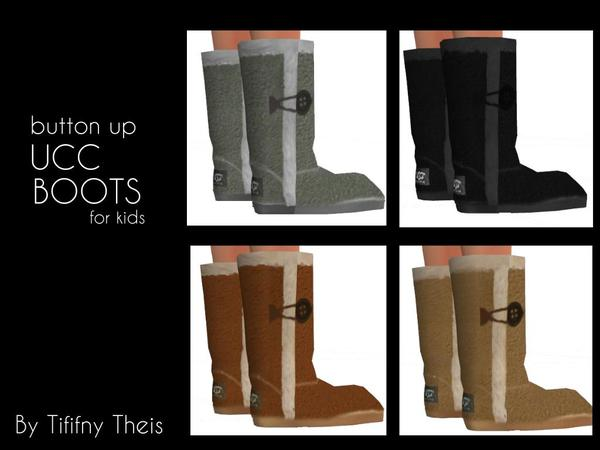 Kids UCC Boots by tiffybee