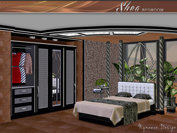 Shea Bedroom by NynaeveDesign