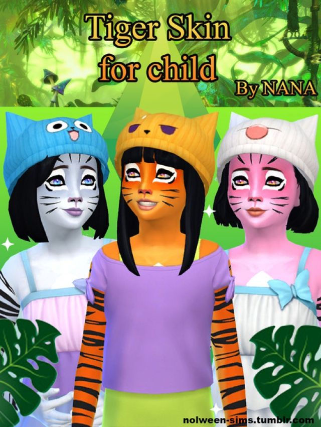 iger skin for child 3 colors - by Nolween