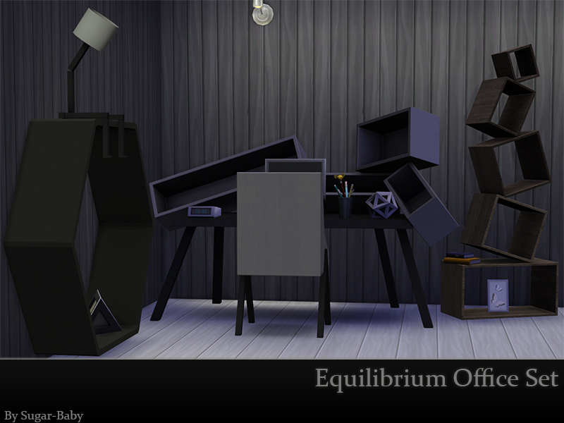 Equilibrium Office Set by Sugar Baby