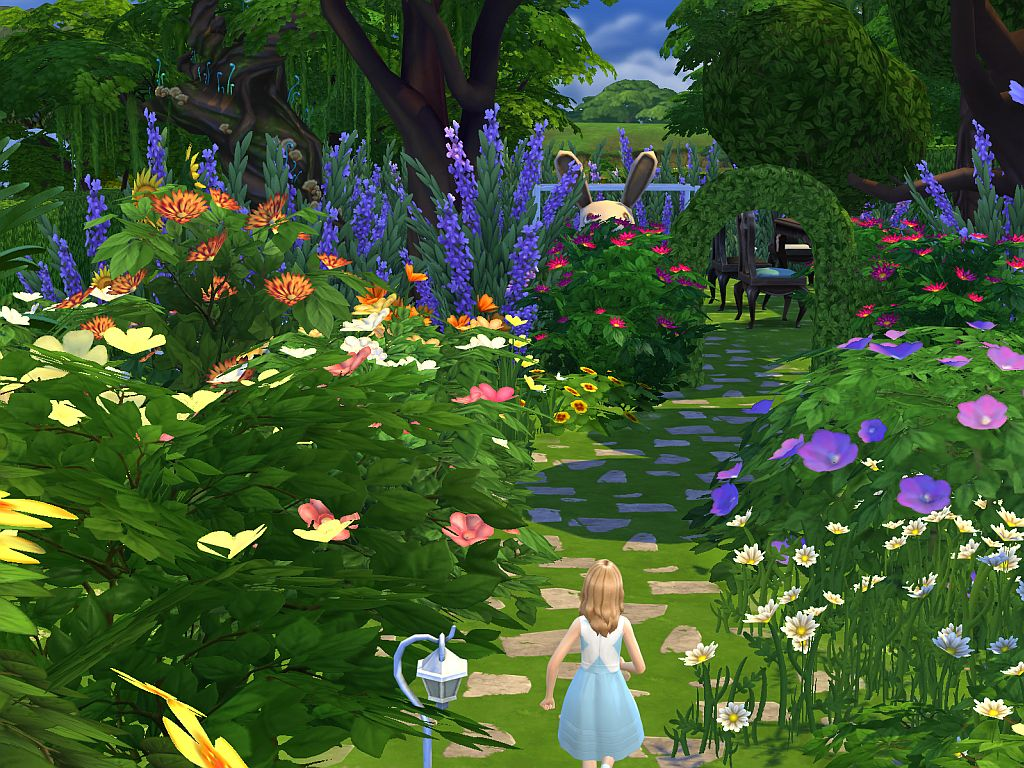 Alice in Wondersimland Park by Vrain