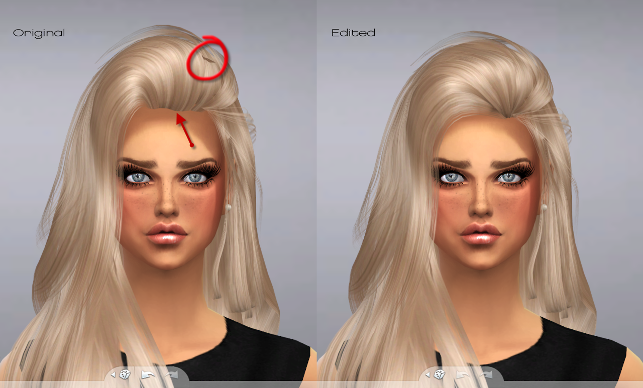 Raonjena 36 Hair Conversion for Females by Puccamichi