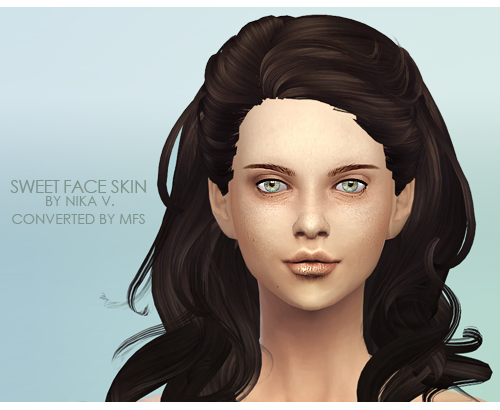 Sweet face skin by missfortune