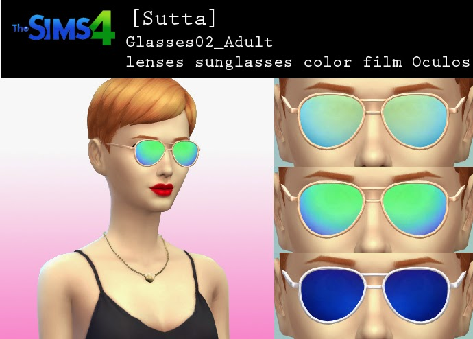 Oculos Sunglasses at Sutta Sims4