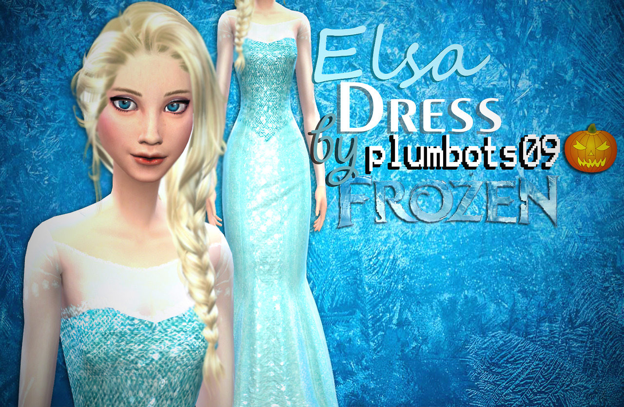 Elsa Dress by Plumbots09