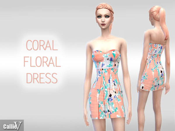 Casual Floral Dress by Callie V