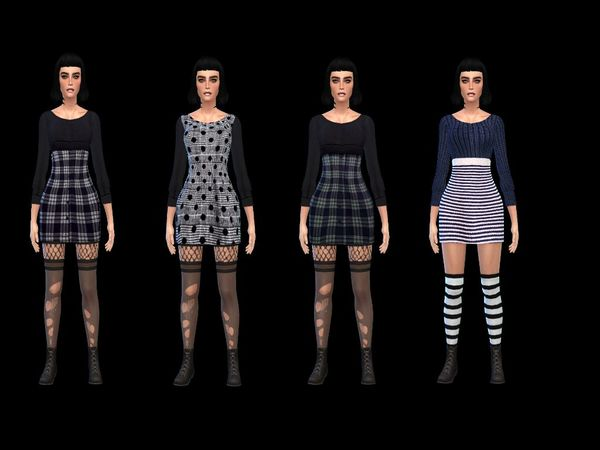 dress wool sweater collection by simsoertchen