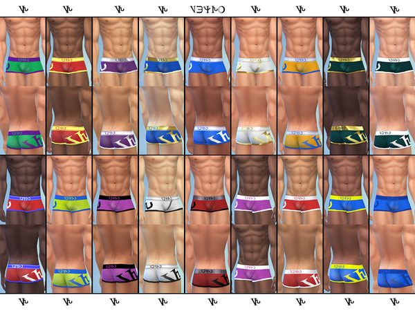 Men Underwear v5 by 333EvE333