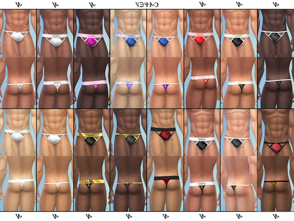 Men Underwear v6 by 333EvE333