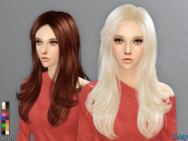 Starlight Hairstyle - Sims 4 by Cazy