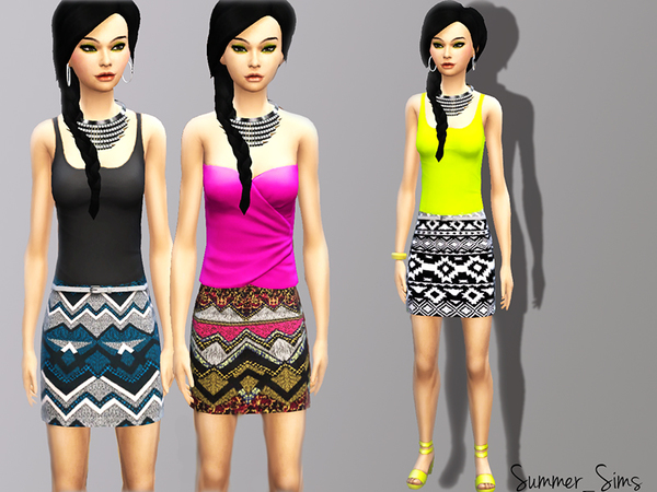 Fashion Skirt by Summer_Sims