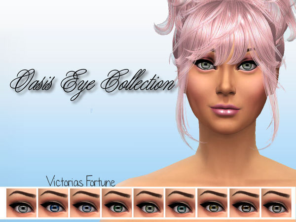 Victorias Fortune Oasis Eye Collection by fortunecookie1