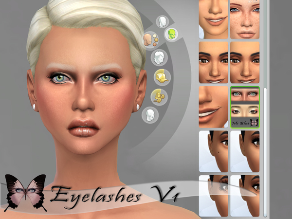 Eyelashes V1 by Ms Blue