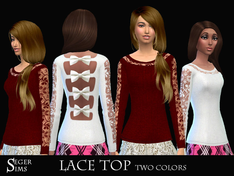 Lace Top by SegerSims