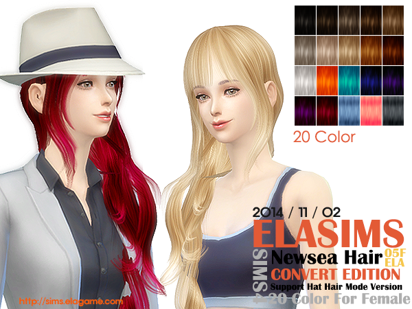 Newsea Hair Conversion 05F by Elasims
