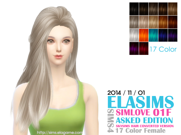 Hair Conversion 01F by Elasims