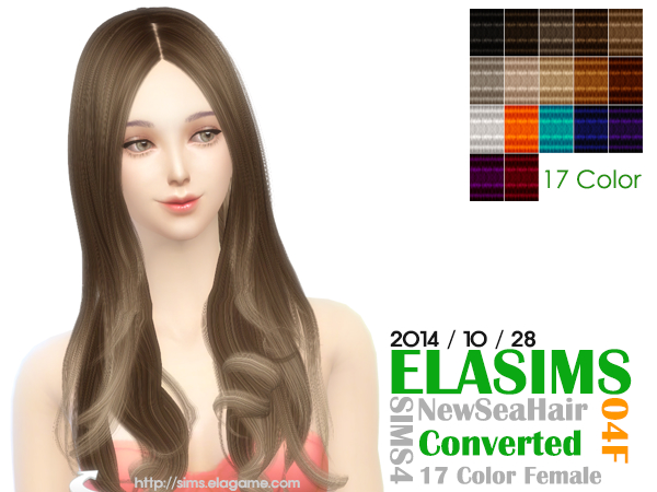 Hair Conversion 04F by Elasims