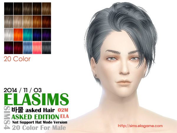 Hair Conversion 02M by Elasims