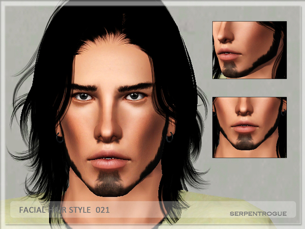 Facial Hair Style 021 by Serpentrogue
