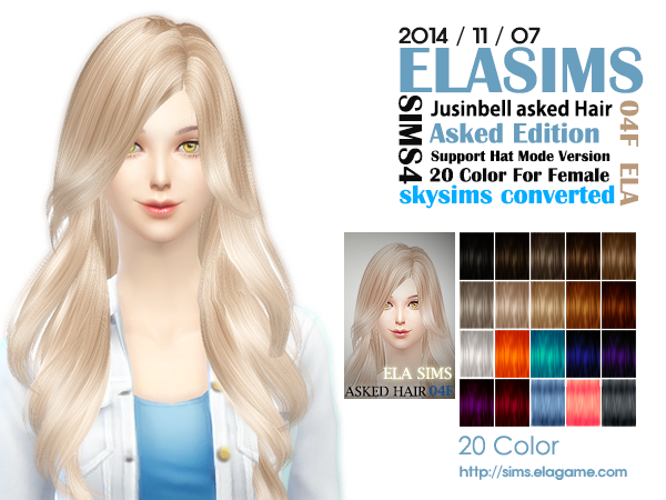 Skysims Hair Conversion 04F by Elasims