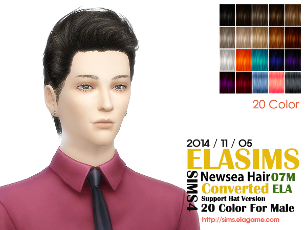 Newsea Hair Conversion 07M by Elasims