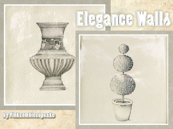 Elegance Walls by Pinkzombiecupcakes