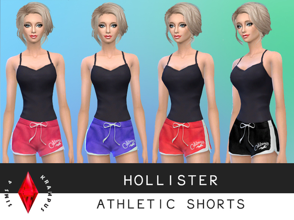 Set of 4 Hollister Shorts by SIms4Krampus