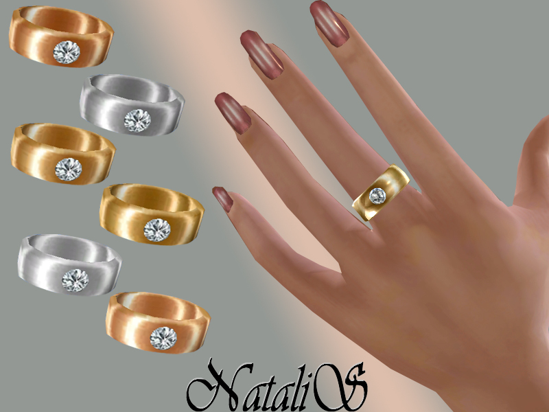 NataliS_Ring with crystal FA-FE