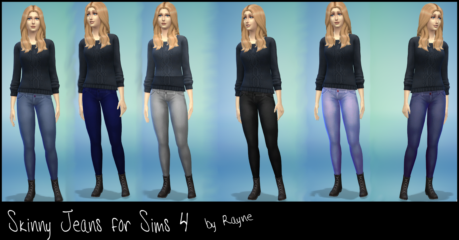 Skinny Jeans for Females by Rayne