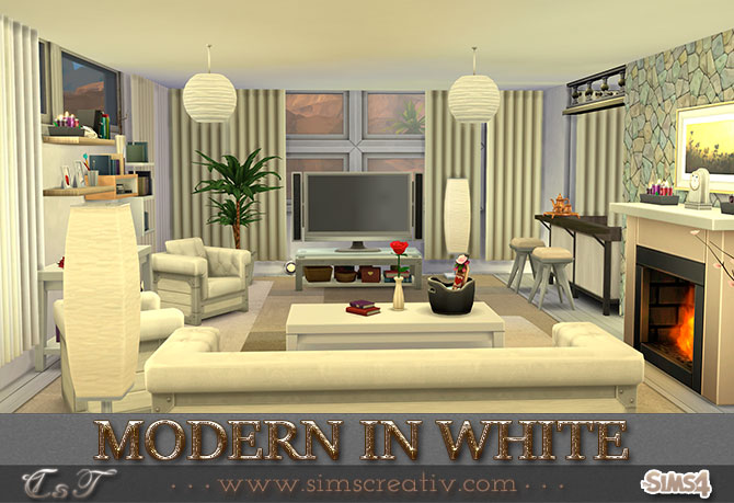 Modern in white by Tanitas8