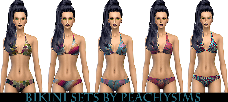 Bikini sets by Peachy