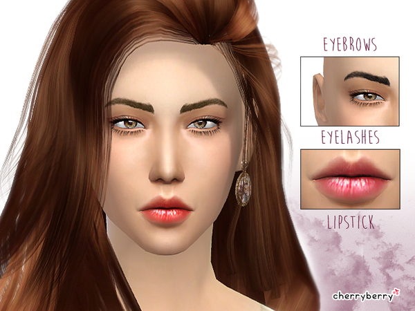 Simple Beauty - Makeup set 01 by CherryBerrySim