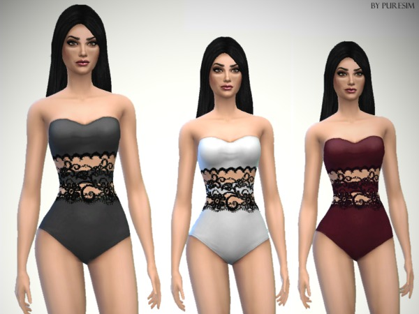 Lace Swimsuit by Puresim