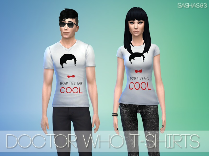 Doctor Who t-shirts by sashas93